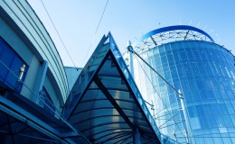 Modern business centre