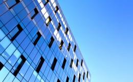 reflection in modern windows